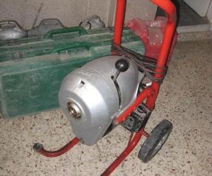Máquinas para desatascos en Fontanería Navarro