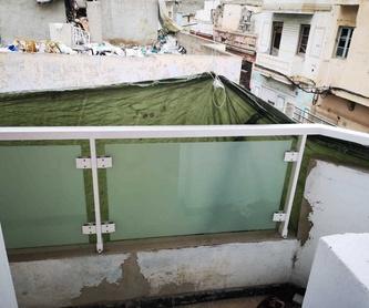 Cerramientos de techo: Trabajos de Aluminios Beyra Arucas