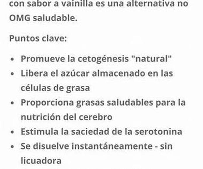 KETO CREAMER: Productos de Valentus Cantabria