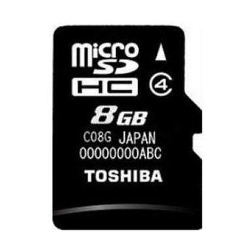 Toshiba SD-C08GJ Micro SD clase 4 8GB c/adaptador : Productos y Servicios de Stylepc