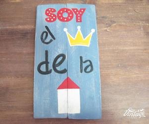 Letrero infantil pintado a mano en León