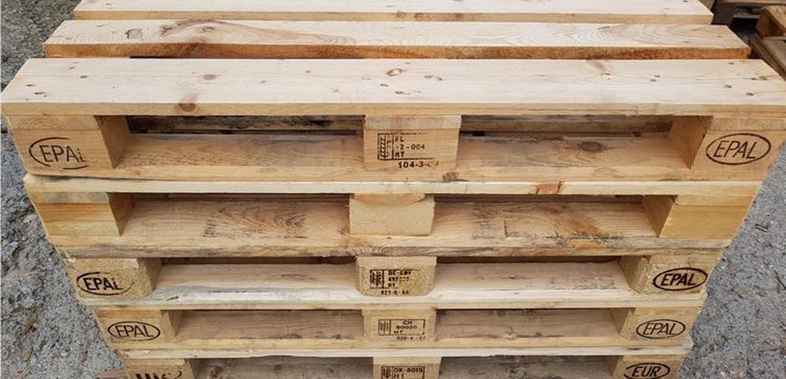 Compra venta de palets en Mataró para armazones de madera