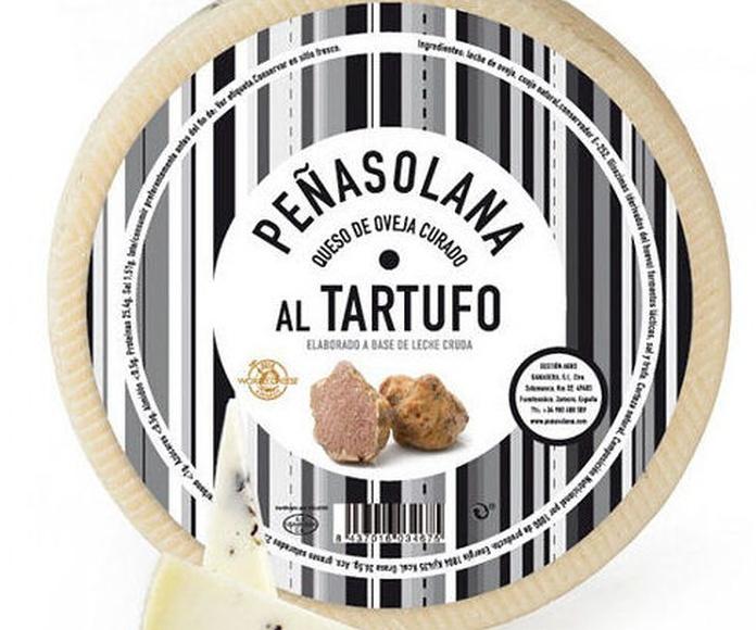 Queso de oveja Peñasolana curado al Tartufo Zamorano 2.900 kg: Productos de El Racó del Bierzo