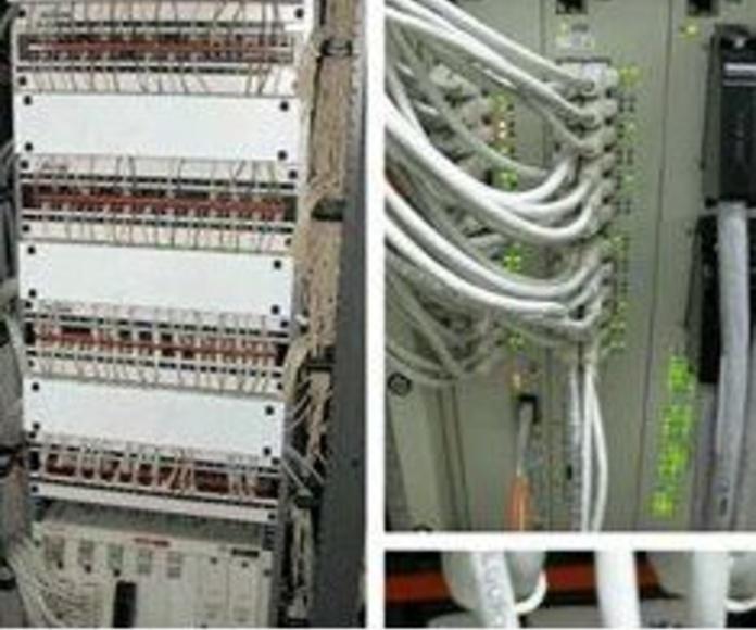 Sistemas de control y redes de voz y datos: ¿Qué hacemos?  de Cuberes Planchería, S. L.