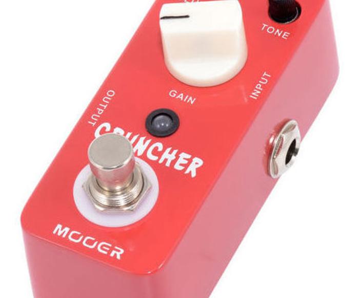 Mooer Cruncher, pedal de distorsión para guitarra y bajo
