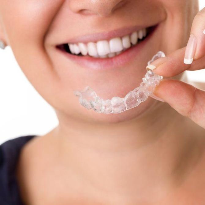 Una férula para evitar la fricción dental