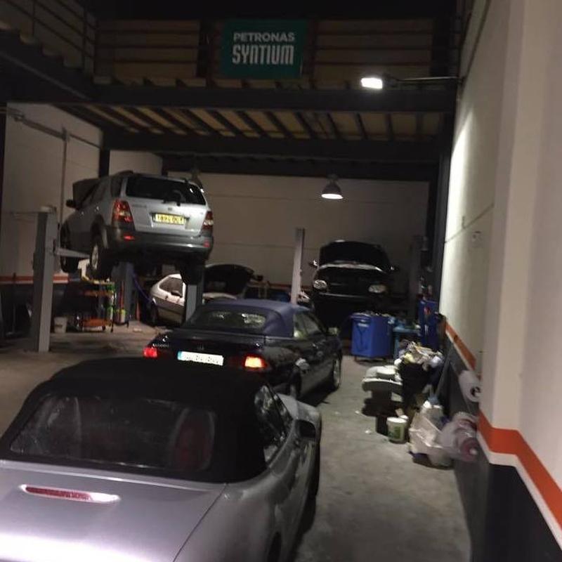 Electricidad y Mecánica: Servicios de Talleres LB Las Rozas, S.L.