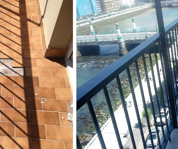 Rehabilitación de terrazas y balcones: Trabajos realizados de Reformas Josemi Gallego