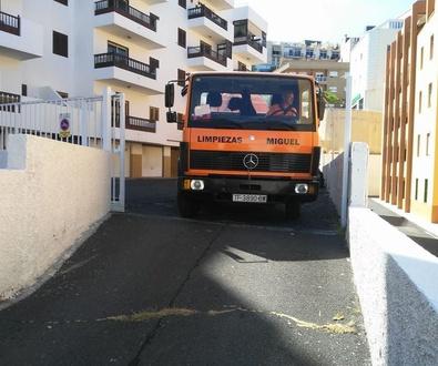 Desatasco urgentes en Tenerife Norte
