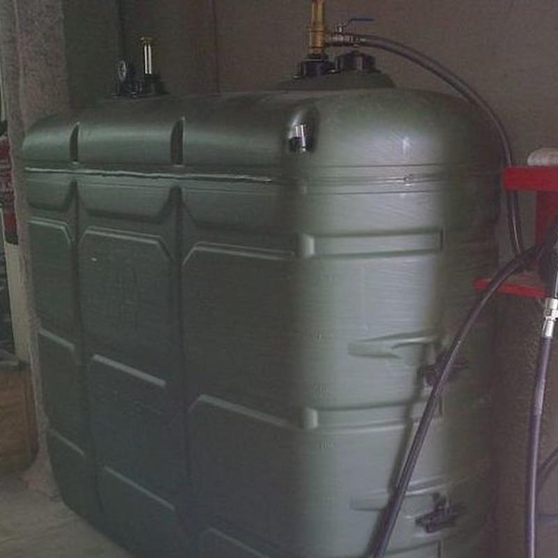 Limpieza de depósitos de gasoil: Servicios de Carloandres