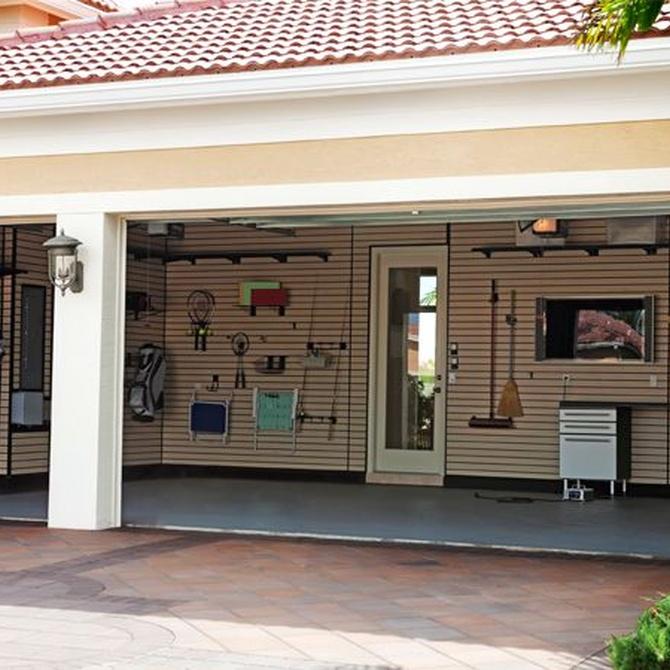 Trucos para tener bien organizado el garaje de tu chalet