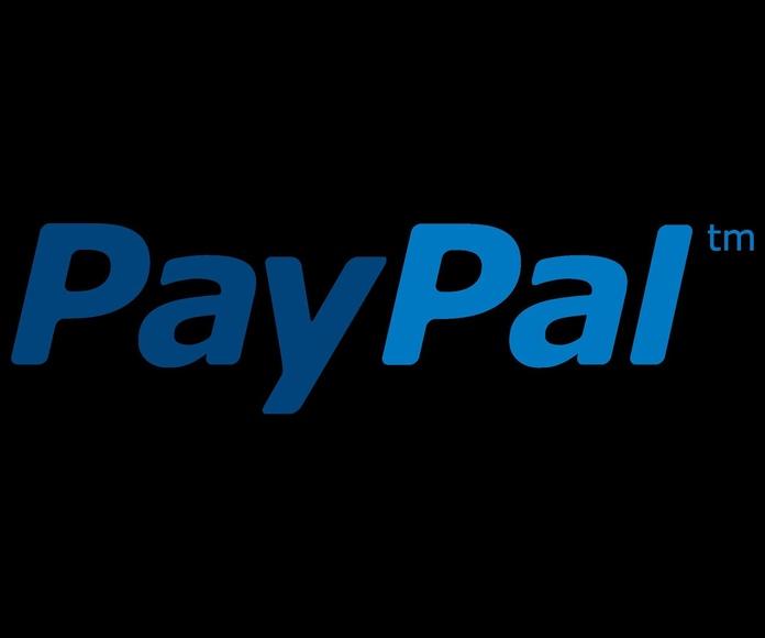Admitimos pagos con Paypal