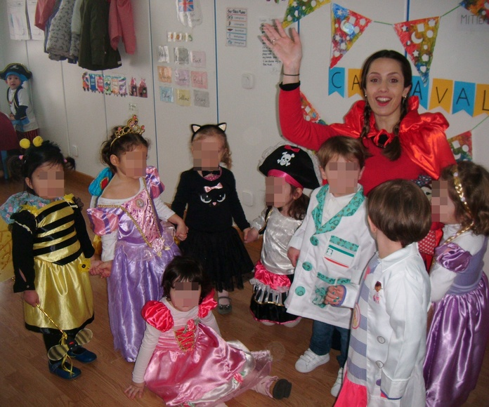 FIESTA DE CARNAVAL curso 2017-2018 en la Escuela Infantil Centro Vida de Moratalaz