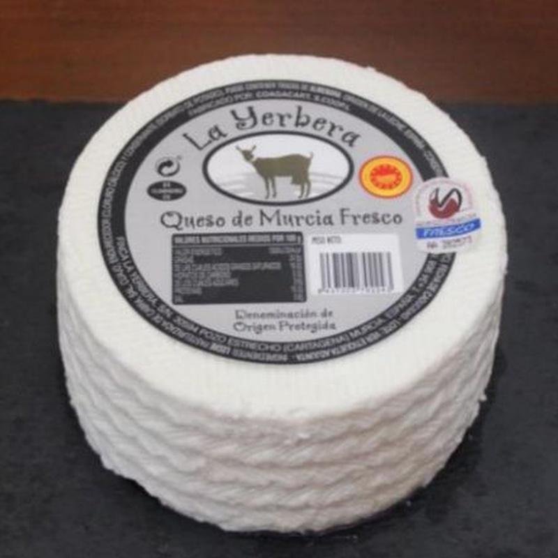 Queso fresco de cabra D.O.:  de La Yerbera