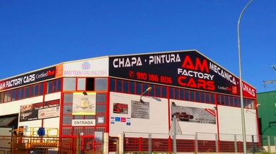TALLER AM FACTORY CARS CERTIFICA SUS INSTALACIONES EN RED DE TALLERES CERTIFIED FIRST