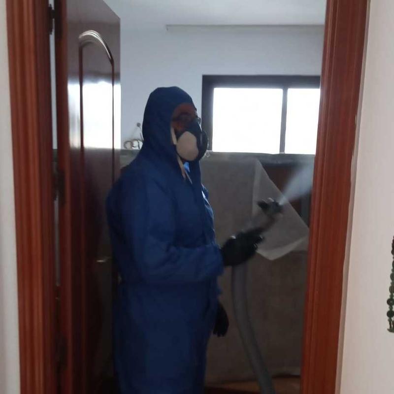 Desinfección  de viviendas y locales Tenerife