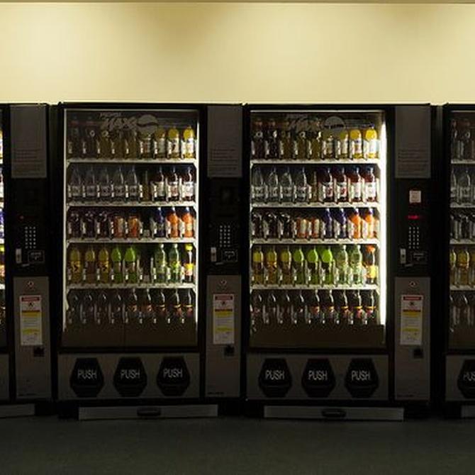 El origen de las máquinas expendedoras