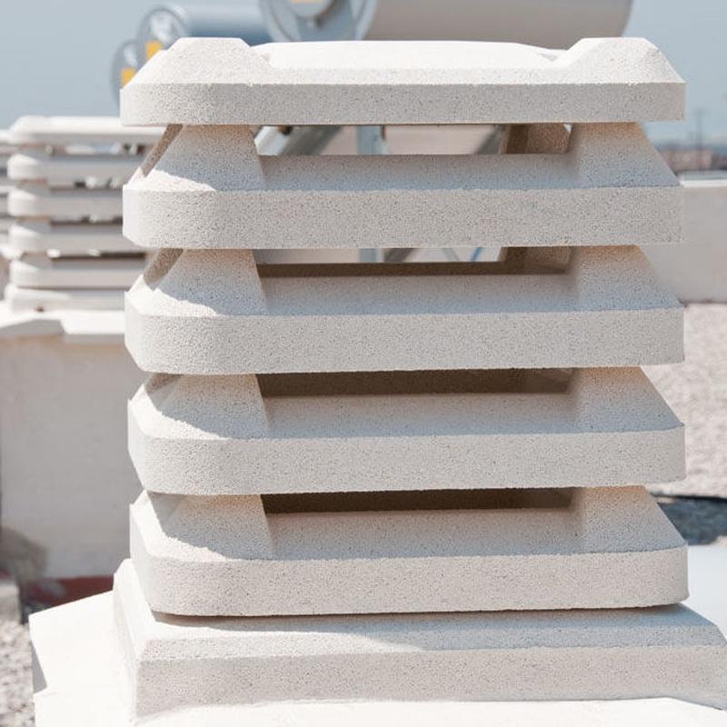 Aspirador Estático Cuadrado Samanta: Productos de Materiales de Construcción Camino