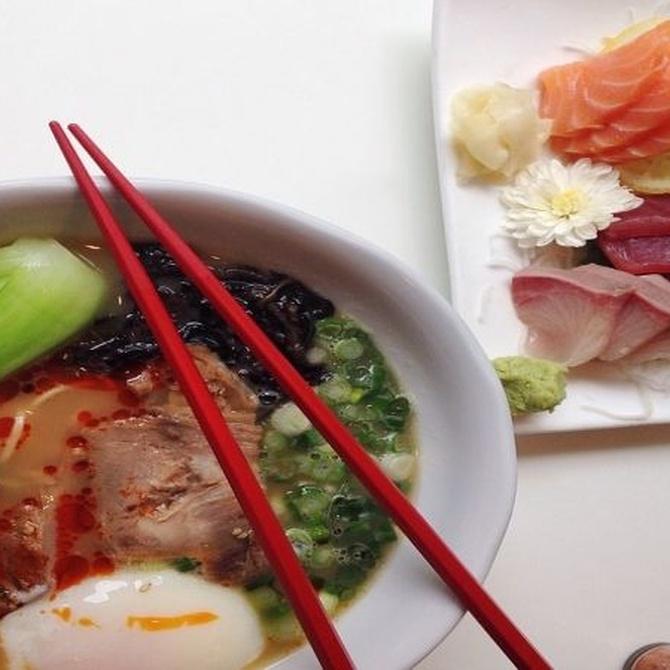 El bambú en la comida china