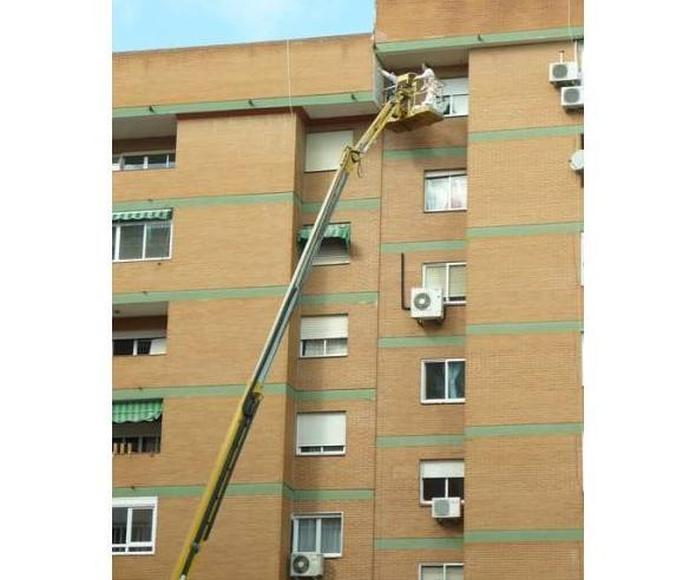 Rehabilitación de fachadas: Servicios y Materiales de Imperval