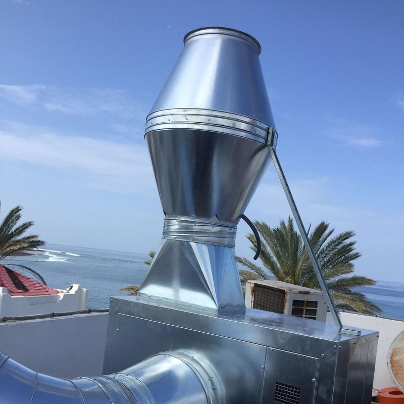 EXTRACCIÓNES: Servicios y Productos de JPG Climatización Canarias