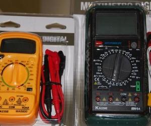 Multimetro, Polimetro, Tester ó Multitester