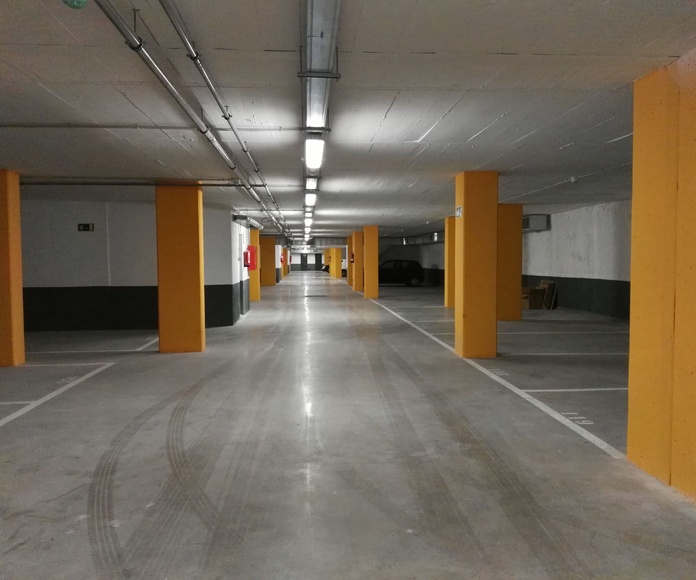 Parking obra Philips Zona Franca de Barcelona