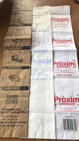 Bolsas de papel para negocios