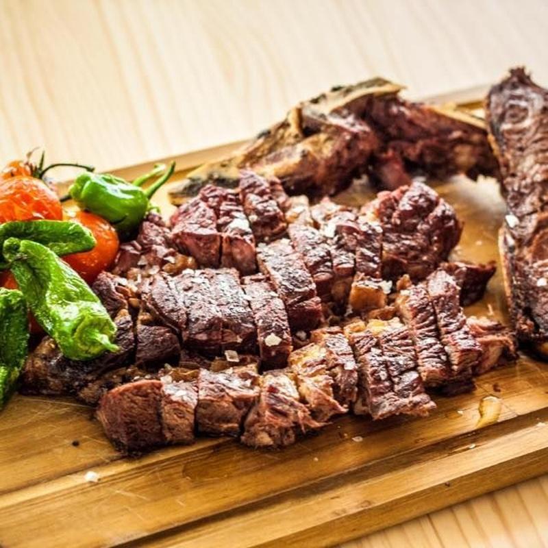 Chuletón de vaca madurada 500 grs: CARTA y Menús de Alquimia