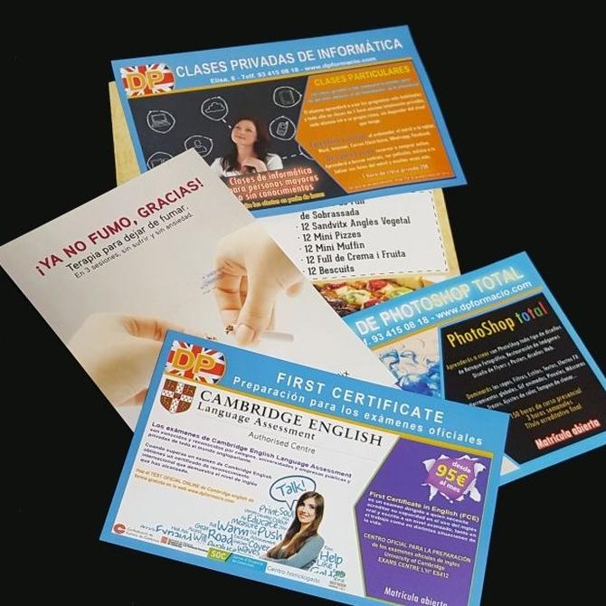 Los flyers pueden ayudarte a promocionar un evento de manera económica