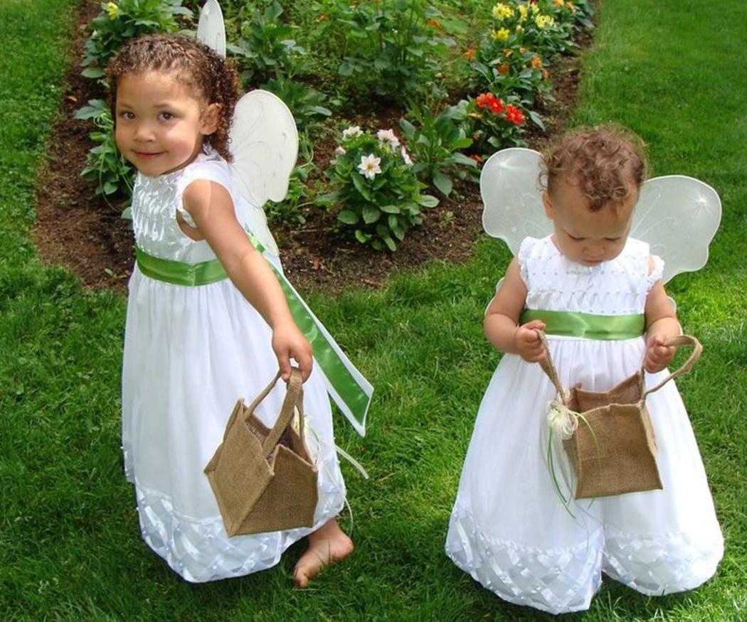 Vestir a los niños para una boda