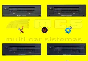 Reparación módulos MIB Audi Skoda MULTIMEDIA Volkswagen Seat INFOTAINMENT