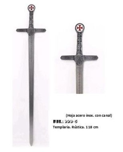 Espada Templaria Rustica: Productos  de Aceros de Toletvm