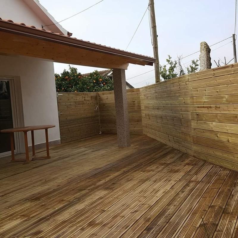 Porches: Productos y Servicios  de Carpintería Florencio Veiga