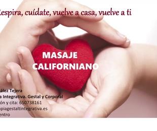 Masaje Integrativo Esalen y Californiano