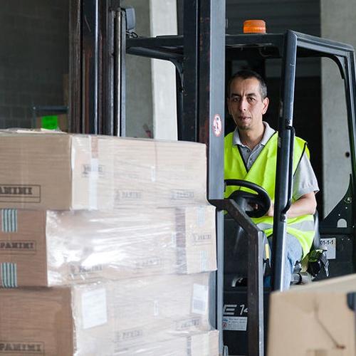 Distribución y recogida de mercancías