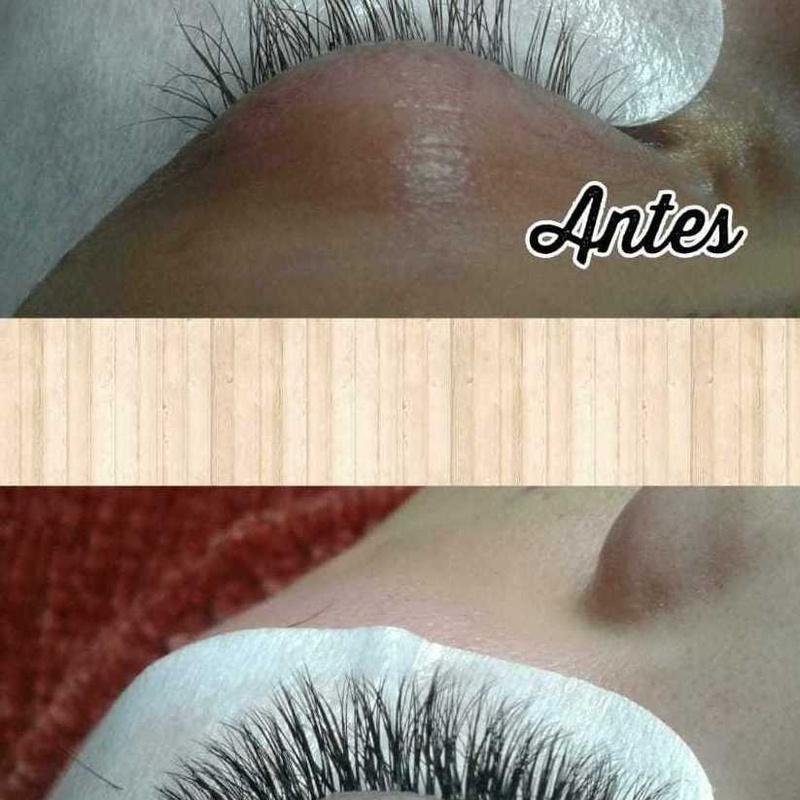 Extensiones de pestañas pelo a pelo en Santutxu