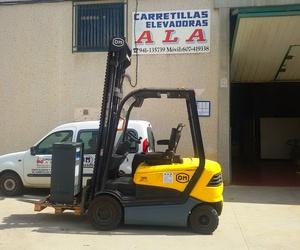Todos los productos y servicios de Carretillas: Carretillas Elevadoras A.L.A., S.L.