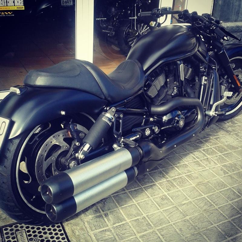 transformación vrod, , transformación harley davidson, motos custom, personalizar motos, venta motos custom