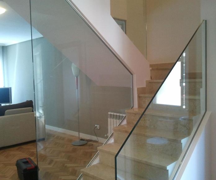 Barandilla de cristal Madrid. Cristalera Madrileña