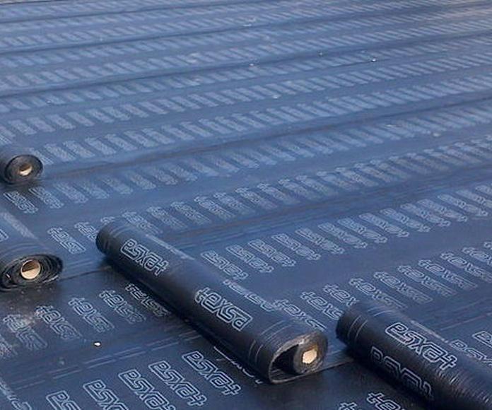 Impermeabilización de cubiertas/tejados: Servicios de Impermeabilizaciones Rueda