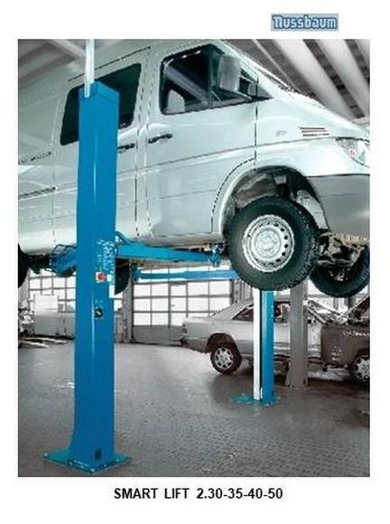 NUSSBAUM - 2 COLUMNAS: Maquinaria y Servicios de AVERNIA