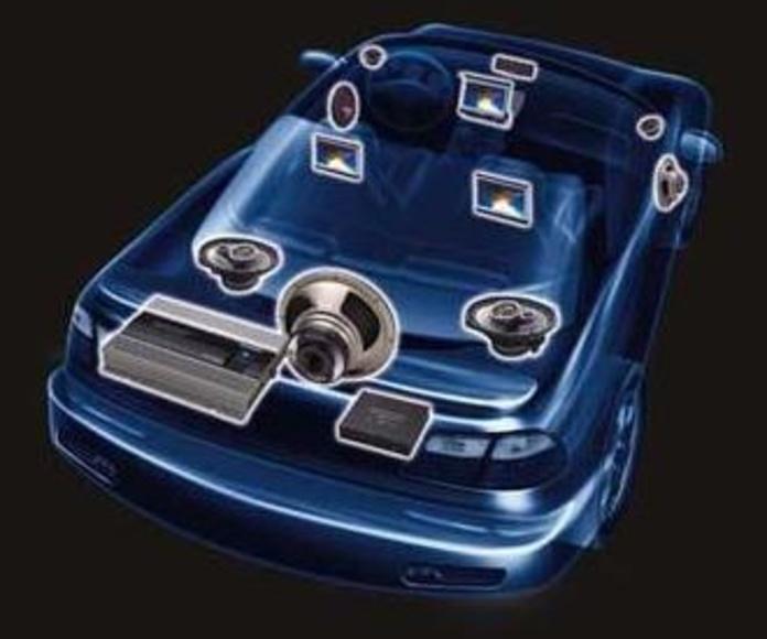 Especialistas en montajes de equipos de sonido CAR AUDIO y Multimedia.