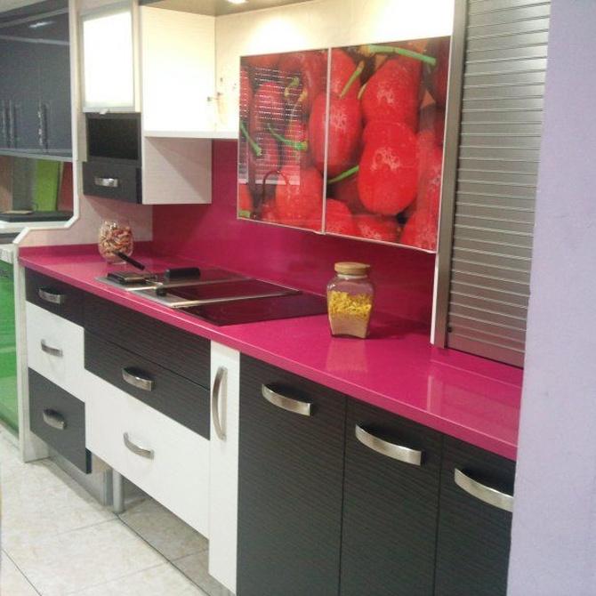 Apuesta por la melamina para los muebles de cocina