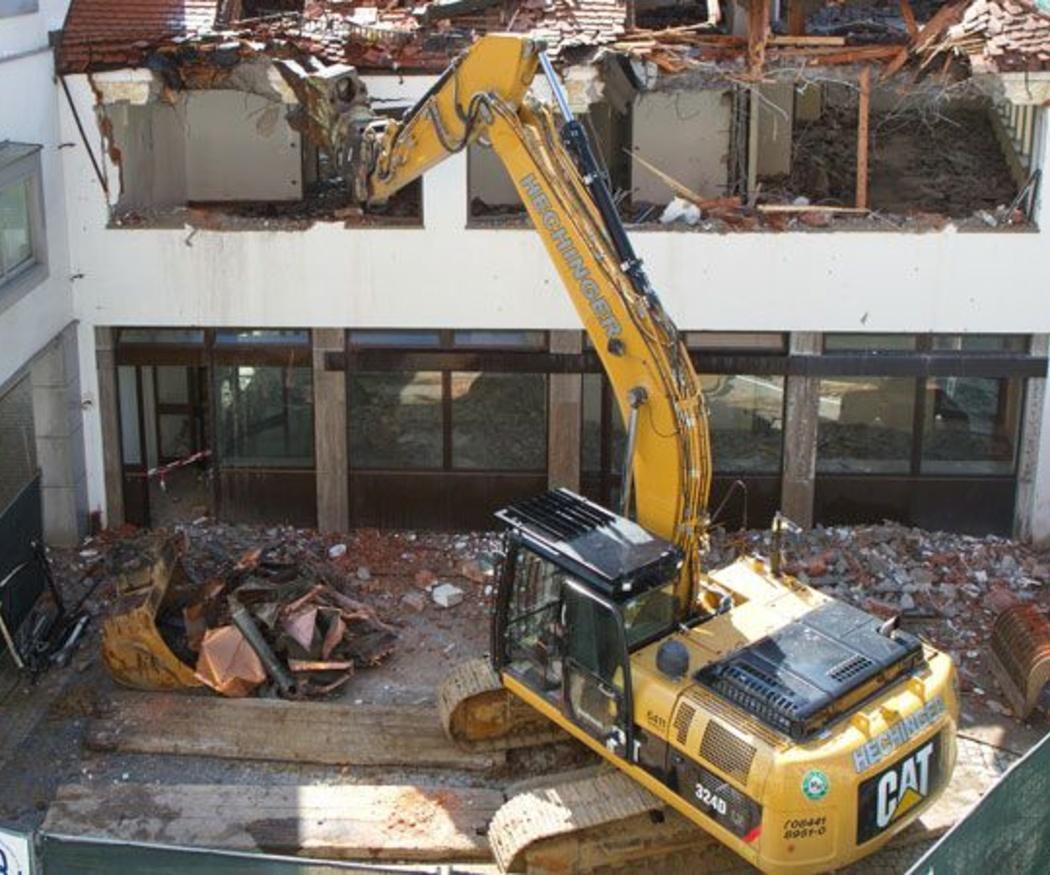 Lo que tienes que exigir a una empresa de demolición