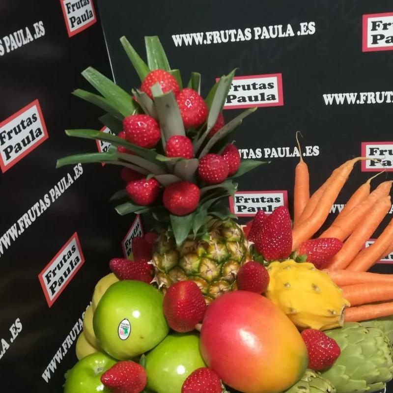 Cestas y detalles para regalar: Catálogo de Frutas Paula