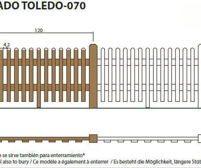 Vallado Toledo 070: ¿Qué podemos ofrecerte? de CM PLASTIK RECYCLING