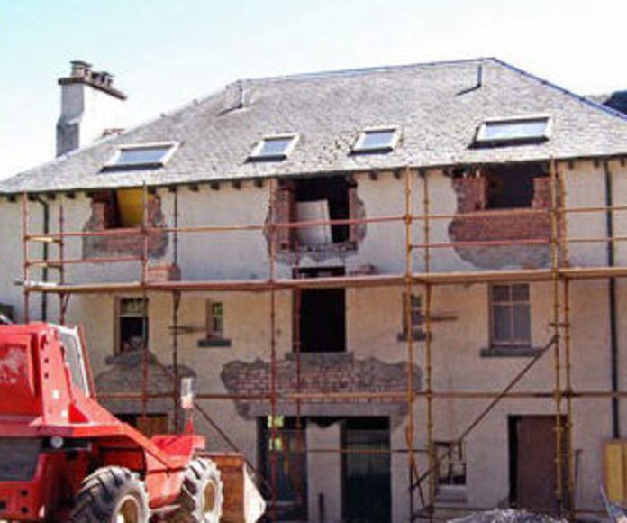 Rehabilitación de edificios y fachadas: Trabajos de Construcciones Javier Villar