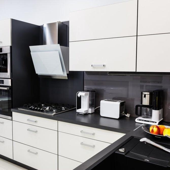 Las encimeras, pieza clave en la cocina