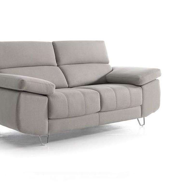 Sofá 3 plazas de diseño en muebles sagunto